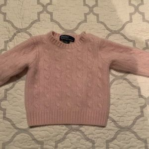 Baby girl cashmere sweater